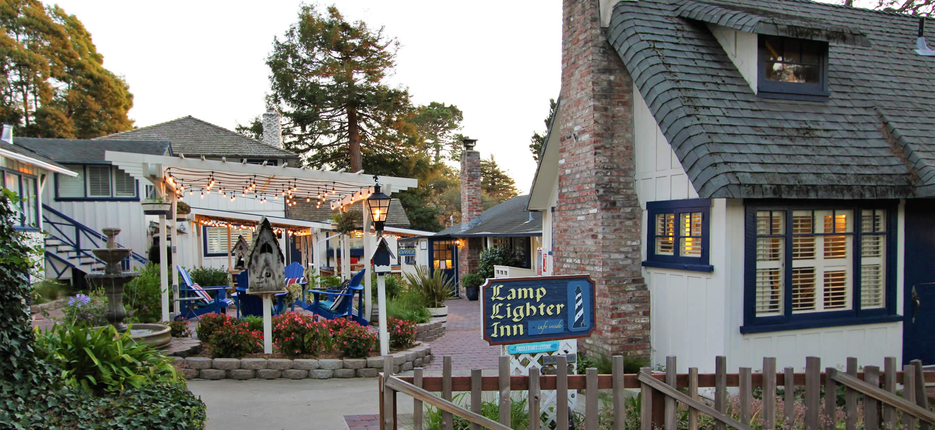 carmel bed and breakfast inn with cottages and stylish rooms