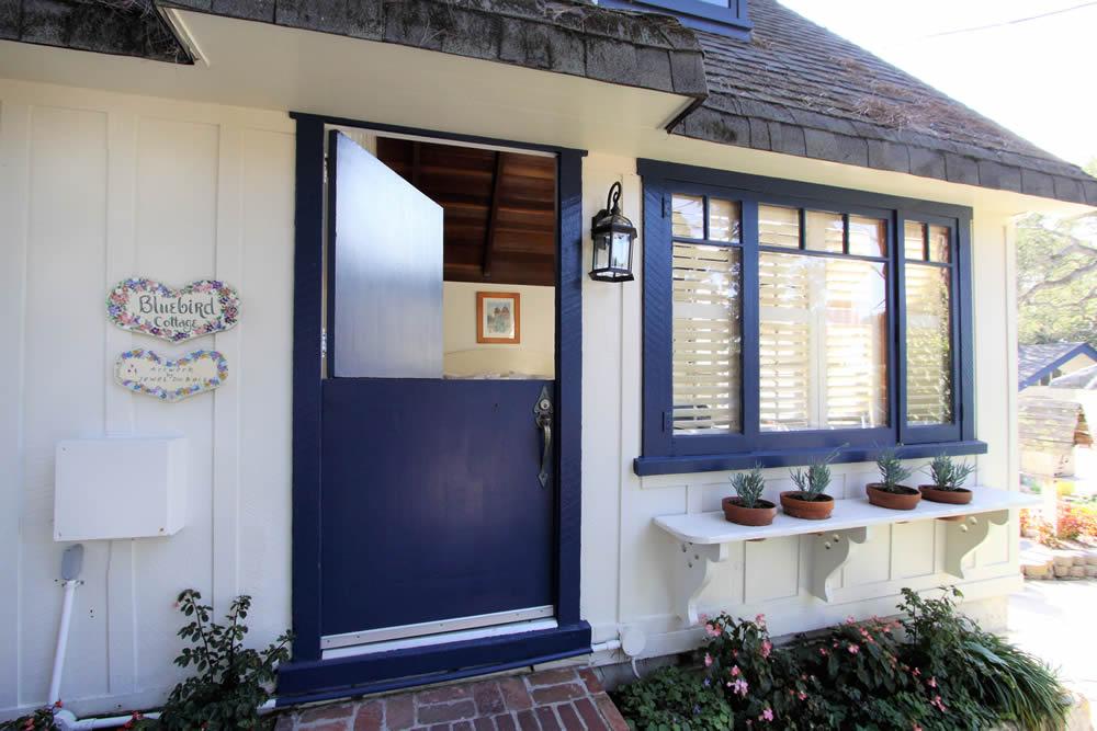 bluebird cottage exterior